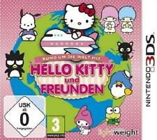 Nintendo 3ds Hello Kitty y amigos alrededor del mundo como nuevo alemán