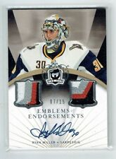 07-08 UD The Cup Emblems of Endorsement  Ryan Miller  /15  Auto  Patches