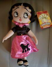 Betty Boop Stuffed Plush Cloth Doll Trendy Retro Style 2009 ☆New☆