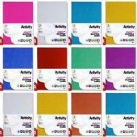 *OFFER* Premier Art + Craft A4 250gsm Dense Coloured Sparkle Glitter Card Range