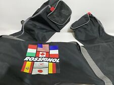 Vintage 1990s Authentic Rossignol Ski Carry Bag Cover Sleeve Holds 1 Pair Skis
