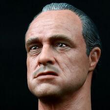 1/6 Godfather Marlon Brando HEADPLAY The classic HEADSCULPT