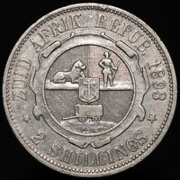 1893 | South Africa 2 Shillings | Silver | Coins | KM Coins