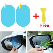 10x Oval Car Rainproof Rearview Side Mirror Protection Film No Mist Accessories