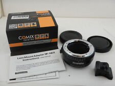 Comix CM-NF-NEX Nikon F to Sony E Lens Mount Adapter + SCATOLA BOX Tripod Mount