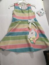NWT Bonnie Jean Sz 2T Unicorn Dress