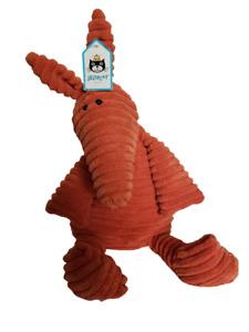 Jellycat London Cordy Roy Aardvark Stuffed Animal Plush Orange Toy Plushie