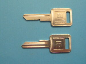 Chevrolet  Pontiac  GM   Key Blanks  GM  1154610  NOS
