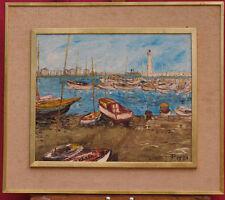 Tableau Marine 1950/1970 signé PGB