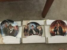Indiana Jones And The Last Crusade Delphi Collector'S Plates New
