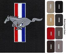 Lloyd Mats Mustang Pony and Bars Classic Loop Front Floor Mats (1964-1973)