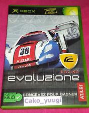 RACING EVOLUZIONE XBOX VERSION 100% FRANCAISE EXCELLENT ETAT
