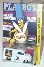HOT WHEELS CUSTOMS DAIRY DELIVERY PLAYBOY MAGAZINE MARGE SIMPSON 1/25