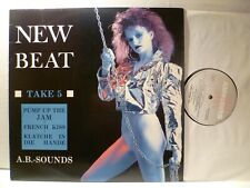 LP, New Beat, A.B. suoni take 5, acid house 1989, Technotronic, MINT