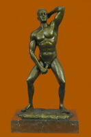 Signed Original Limited Edition Nude Gay Bronze Masterpiece Sculpture Statue Art