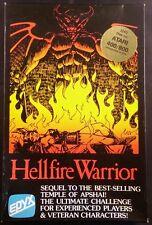 Hellfire Warrior EPYX Atari 8 bit 400/800 Disk - Complete