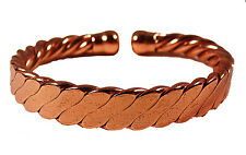 Pure Copper Powerful Magentic Pain Relief Magnetic Cuff Bangle Bracelet