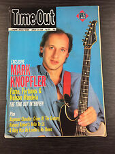 Rare Vintage TIME OUT Magazine: No 929. June 8th-15th 1988, Mark Knopfler