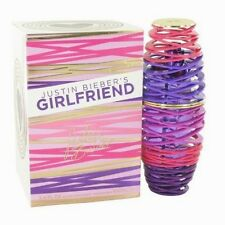 Justin Bieber Girlfriend 3.4 oz EDP Perfume for Women New In Box