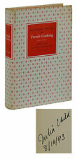 SIGNED Mastering the Art of French Cooking ~ JULIA CHILD 1961 First Edition 2nd