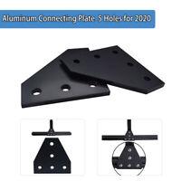 5 Hole 90 Degree Joining Plate 2020 V-slot Aluminum Profile CNC 3D Printer 60X60
