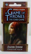 A GAME OF THRONES LCG SACRED BONDS CHAPTER PACK CARD GAME EXPANSION SEALED