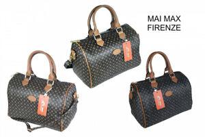 Borsa bauletto donna a mano spalla con tracolla bag borsetta nuova grande M81#