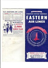 Eastern   Airlines   12/1/1953    Timetable