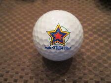 LOGO GOLF BALL-IOWA STATE FAIR...STAR LOGO....
