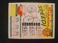 1962 Schwinn Continental~Fleet~ Racer~Varsity American Bicycles Bikes Paper AD