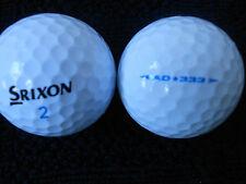 """40  SRIXON  """" AD333 """"  Golf Balls -  """"PEARL/A"""" Grades. - *SPECIAL OFFER*"""