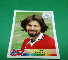 N°78 ERIK MYKLAND NORVEGE NORGE PANINI FOOTBALL FRANCE 98 1998 COUPE MONDE WM