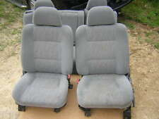 98 Mitsubishi Montero gray cloth seats front & rear