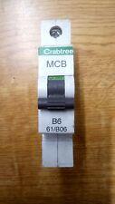 Crabtree Starbreaker 61/B06 6 Amp Tipo B Reja de desminado Negro Clip