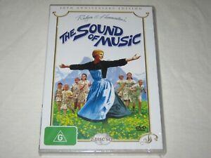 The Sound Of Music - 2 Disc Set - Brand New & Sealed - Region 4 - DVD