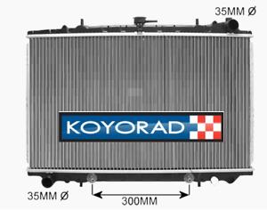 Radiator For Nissan Maxima J30 89-94 Z32 300ZX 3.0L Non-Turbo Auto Man 89-97 NEW