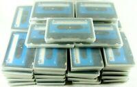 Bulk VTG Lot Of 46 Recorded Used Cassette Tapes 60min Kmart Blue Label w/Cases