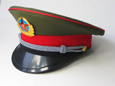 Original Chinese ARMY PLA Type 87 Officer Visor Hat in Perfect condition