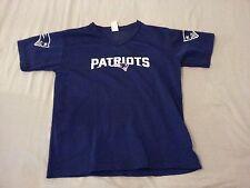 Boys Franklin New England Patriots Jersey Shirt M Medium Navy Blue Athletic
