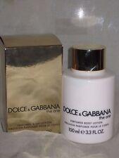 NIB DOLCE & GABBANA, THE ONE, PERFUMED BODY LOTION, 100ML/3.3OZ