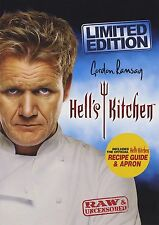 Hell's Kitchen 9 DVD set including embroidered Apron and Recipe Book