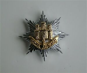 British Army Royal Anglian Regiment Officers Cap Badge - New