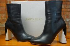Jimmy Choo 'Melrose' Boots in nappa leather. Cost £925.00. Worn ONCE!! Orig box