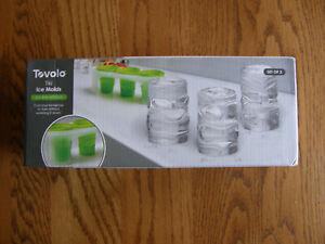 Williams Sonoma Tovolo Silicone Tiki Ice Cube Mold-Bareware-Jello shots-New