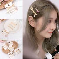 Accessories Heart Pearls Barrettes Headband Pearl Hair Clips Sweet  Hairpins