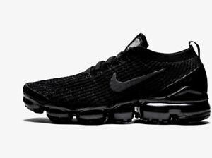 Nike Vapormax Flyknit 3 Black Size UK 8