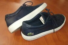 Lacoste L.12.12 Genuine Leather Lace Up Casual Sneakers Shoes 10
