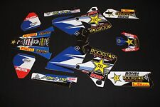 YAMAHA YZF 1998-2002 ROCKSTAR FLU MX GRAPHICS KIT STICKER KIT STICKERS