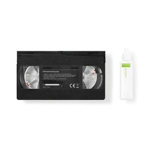 KIT NASTRO DI PULIZIA - PULISCI TESTINE PER VCR VIDEOREGISTRATORE A CASSETTE VHS