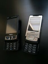 Nokia N95 8GB + Nokia 6500slide! repair? parts? Read description! Joblot! Check